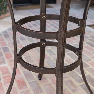 Outdoor Cast Aluminum Bar Table 714 Product Photo