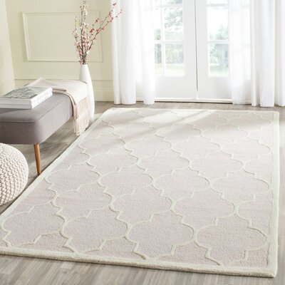 Cambridge Light Pink Area Rug Rug Size: Rectangle 5 x 8