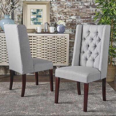 Grosse Dining Chair Color: Light Gray