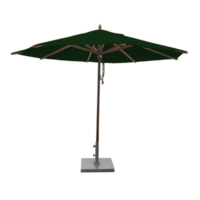 ShoppingCadeaux.com view picture of Shepley 11' Market Umbrella Fabric: Forest Green