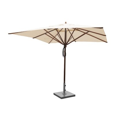 Image of 10' Square Market Umbrella Fabric: Natural