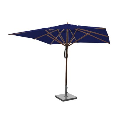 Image of 10' Square Market Umbrella Fabric: Ocean Blue