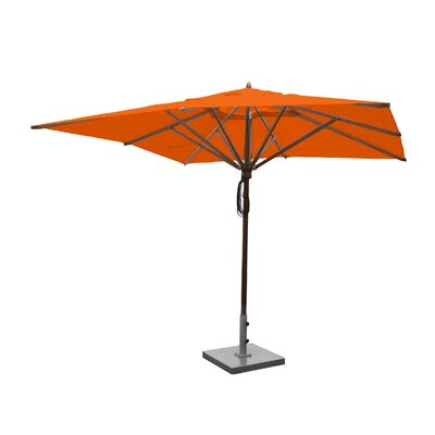 Image of 10' Square Market Umbrella Fabric: Orange