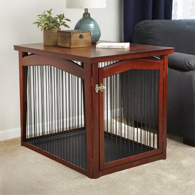 2-in-1 Configurable Pet Crate & Gate Size: Medium (22.5 H x 23.5 W x 32.5 L)