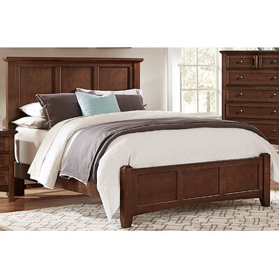 Gastelum Mansion Panel Headboard Color: Warm Cherry