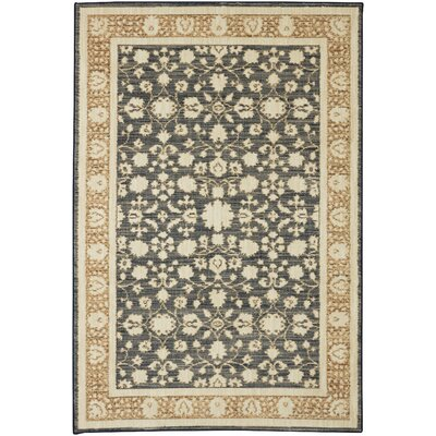 Senecaville Beige/Gray Area Rug Rug Size: Rectangle 53 x 710