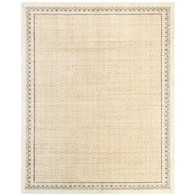 Phillipsburg Gold Area Rug Rug Size: Rectangle 8 x 10