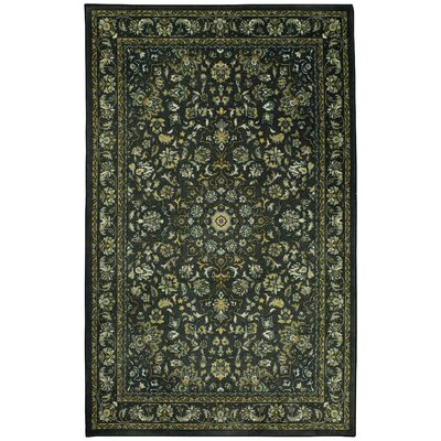 Liola Charcoal Area Rug Rug Size: Rectangle 5 x 8