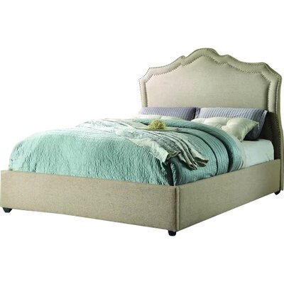 Frankfort Upholstered Platform Bed Size: California King