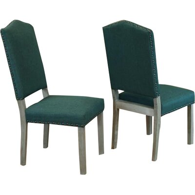 Devonshire Side Chair Upholstery: Forrest Green