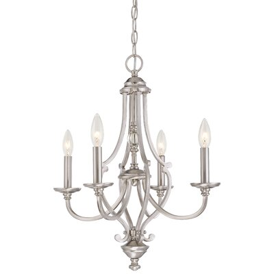 Audane 4-Light Candle-Style Chandelier