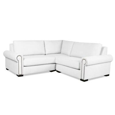 Lebanon Modular Sectional Upholstery: White