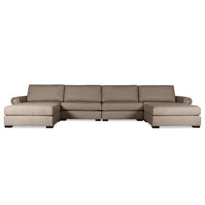 Lebanon Modular Sectional Upholstery: Brown