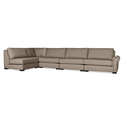 Lebanon Modular Sectional Upholstery: Brown