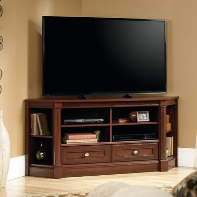 Orviston Corner 61 TV Stand Color: Select Cherry
