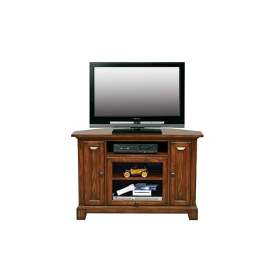 Schueller Corner 47 TV Stand Color: Medium Oak
