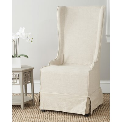 Hainsworth Slipcovered Dining Chair Upholstery: Beige
