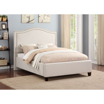 Angella Upholstered Panel Bed Size: King