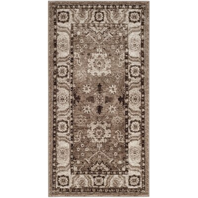 Asheville Taupe Area Rug Rug Size: Rectangle 27 x 5