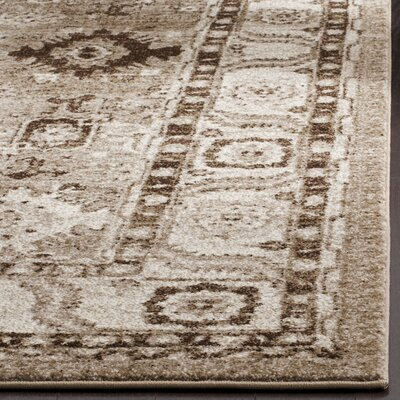 Asheville Taupe Area Rug Rug Size: Rectangle 53 x 76