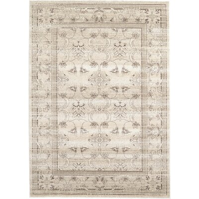 Albermarle Ivory Area Rug Rug Size: Rectangle 7 x 10
