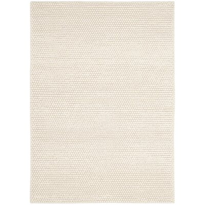 Bathild Hand-Tufted Ivory Area Rug Rug Size: Rectangle 4 x 6