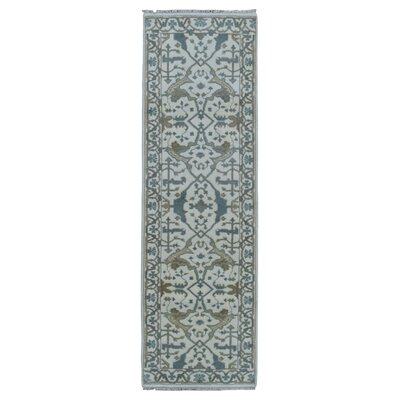 One-of-a-Kind Eward Traditional Hand-Woven Wool Beige Area Rug� Rug Size: Runner 26 x 83