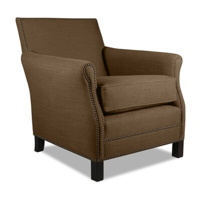 Rowen Armchair Upholstery: Brown