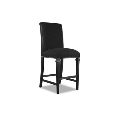 Rowen 30 Bar Stool Upholstery: Charcoal