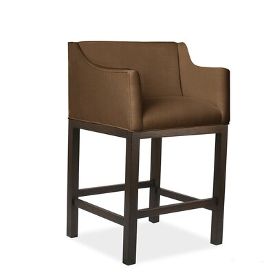 Auriville 26 Bar Stool Upholstery: Brown