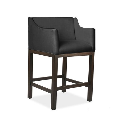Auriville 26 Bar Stool Upholstery: Charcoal