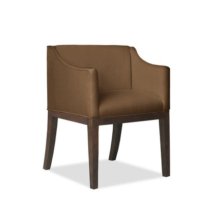 Auriville Arm Chair Upholstery: Brown