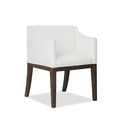 Auriville Arm Chair Upholstery: White