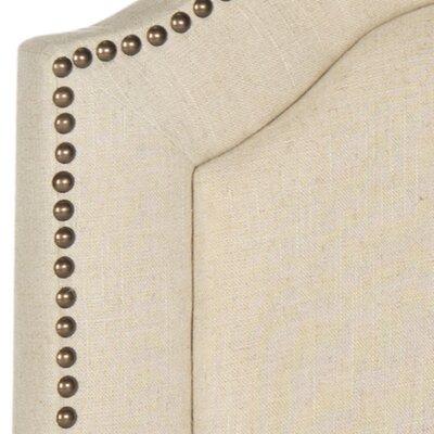 Parsonsfield Upholstered Panel�Headboard Size: King, Color: Hemp, Upholstery: Linen