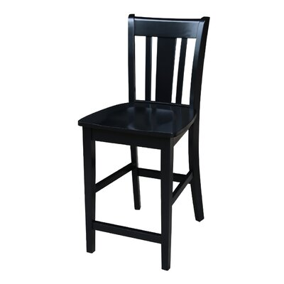 Draper 24 Bar Stool Finish: Black