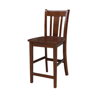 Draper 24 Bar Stool Finish: Espresso