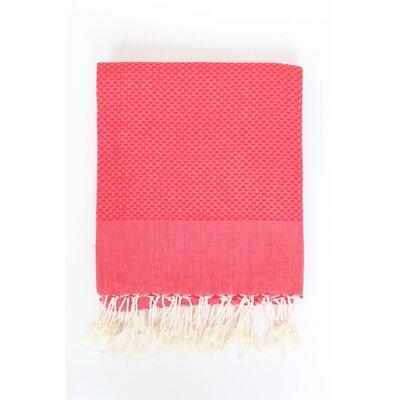Hudgens Bath Towel Color: Red