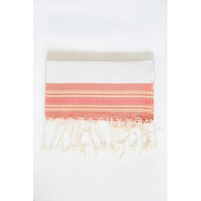 Hudgens Honeycomb Weave Bath Towel (Set of 2) Color: Sunny