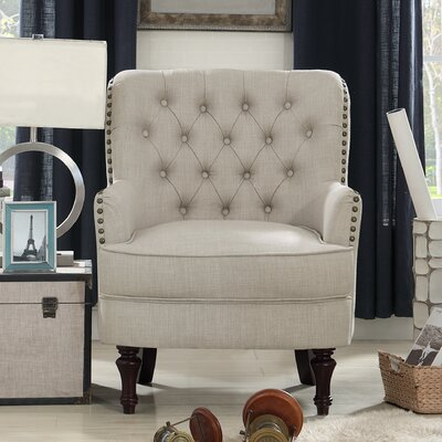 Jagger Arm Chair Upholstery: Beige
