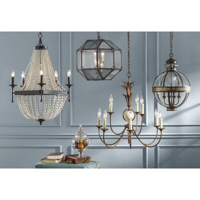 Hartzler 4-Light French Globe Size: Large