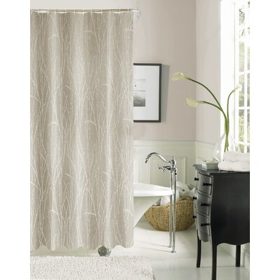 Higby Shower Curtain Color: Taupe