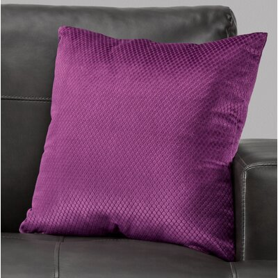 Alfonso Throw Pillow Color: Purple