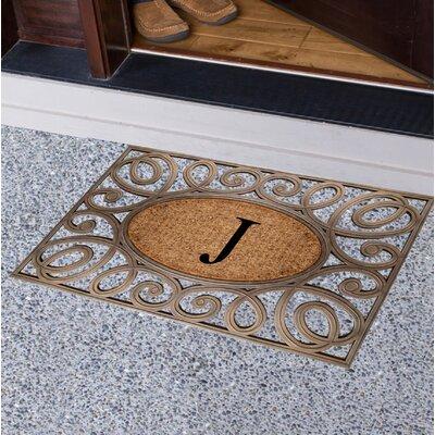 Baggs Monogrammed Doormat Letter: J