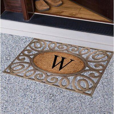 Baggs Monogrammed Doormat Letter: W