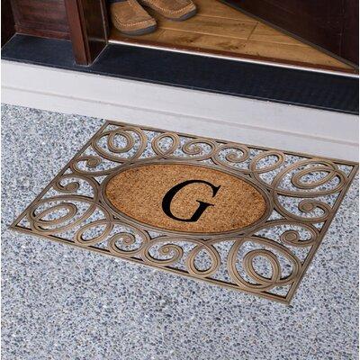 Baggs Monogrammed Doormat Letter: G
