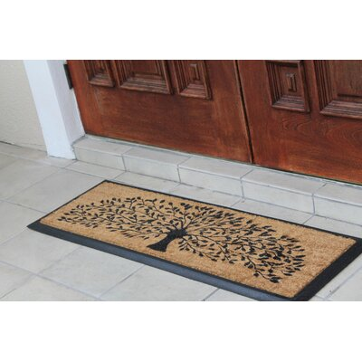 Norwich Tree Doormat Rug Size: Rectangle 13 x 311