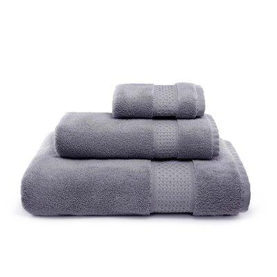 Bell 3 Piece Cotton Towel Set Color: Gray