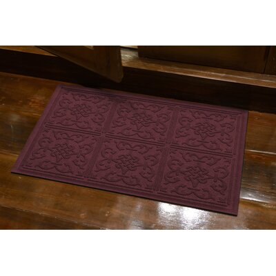 Michiel Bantry Bay Doormat Color: Bordeaux