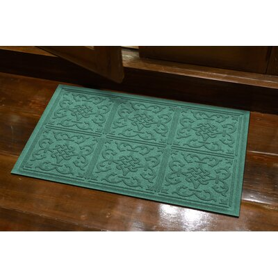 Michiel Bantry Bay Doormat Color: Aquamarine