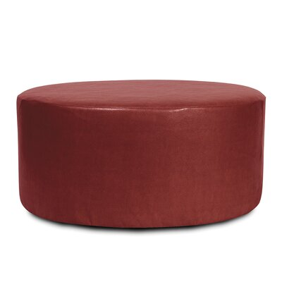 St James Avanti Ottoman Upholstery: Apple - Red